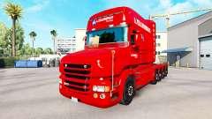 A. Krabbendam skin for truck Scania T