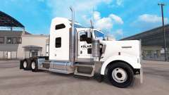 Skin on a Polar Industries truck Kenworth W900