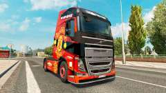 Manchester United skin for Volvo truck