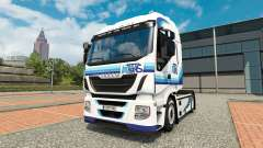 Ital trans skin for Iveco tractor unit