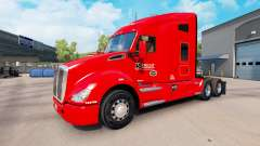 Skin Knights Transportation to the Kenworth trac