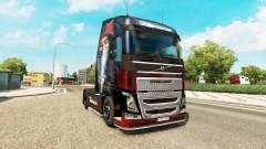 Skin Metallica for Volvo trucks for Euro Truck Simulator 2