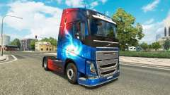 Galaxy skins for Volvo truck