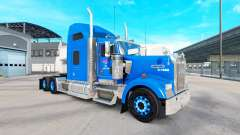 Skin on Carlile Kenworth W900 tractor