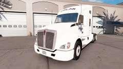 Skin on a Polar Industries truck Kenworth