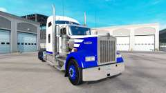 Skin Blue Spike on the truck Kenworth W900