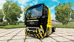 V8 Power skin for MAN truck