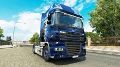 The Blue Sea Pirate skin for DAF truck for Euro Truck Simulator 2