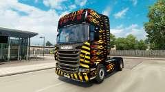 Flame skin for Scania truck