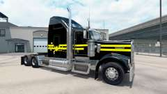 Skin Night on the truck Kenworth W900