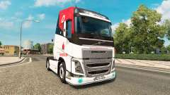 Vodafone Racing skin for Volvo truck