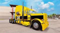 CAT skin for the truck Peterbilt 389