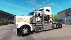 Skin Knights on the truck Kenworth W900
