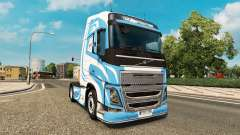 LB Design skin for Volvo truck for Euro Truck Simulator 2