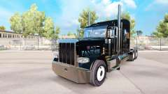 Black Panther skin for the truck Peterbilt 389