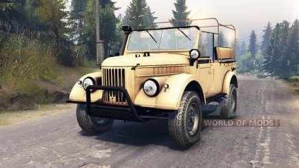 GAZ-69 for Spin Tires