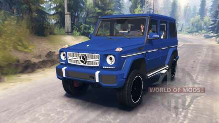 Mercedes-Benz G65 AMG for Spin Tires