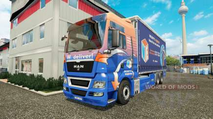 MAN TGS Woodys Express for Euro Truck Simulator 2