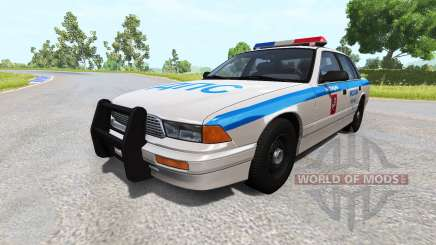 Gavril Grand Marshall of Moscow traffic police for BeamNG Drive