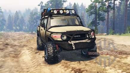 Toyota FJ Cruiser for Spin Tires
