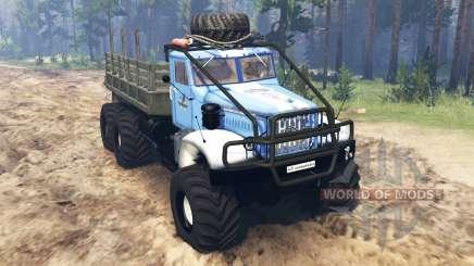 KrAZ-214 v3.0 for Spin Tires