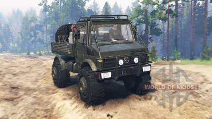 Mercedes-Benz Unimog U1650 for Spin Tires