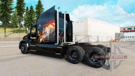 Skin The Transporter for truck Peterbilt for American Truck Simulator