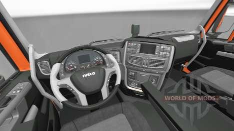 New interior tractors Iveco for Euro Truck Simulator 2