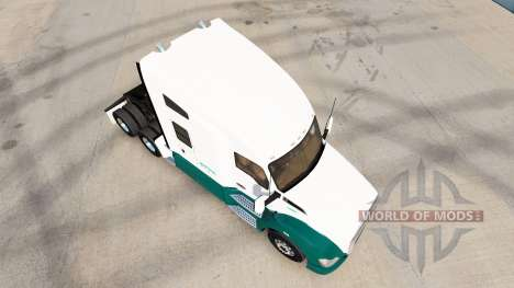 Mascaro Trucking skin for Kenworth tractor for American Truck Simulator