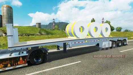 Semi steel coils for Euro Truck Simulator 2