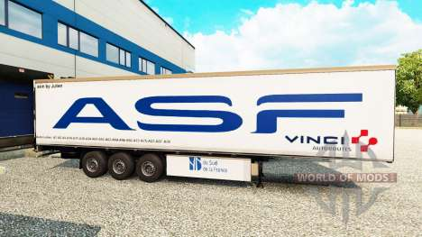Skins for trailers for Euro Truck Simulator 2