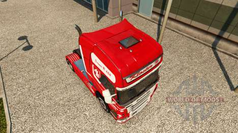 Skin Kloster on tractor Scania for Euro Truck Simulator 2