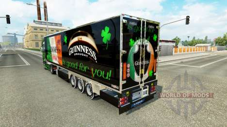 Guinness skin for the truck Scania R700 for Euro Truck Simulator 2