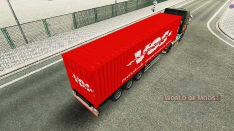 Semi-trailer VOS for Euro Truck Simulator 2