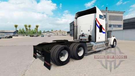 Skin Bicentennial v2.0 tractor truck Kenworth W9 for American Truck Simulator