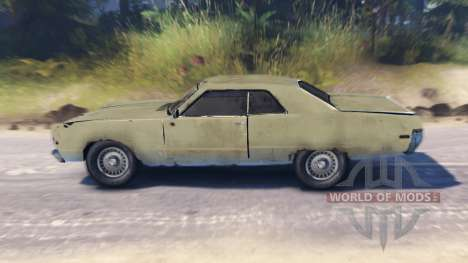 Plymouth Fury III for Spin Tires