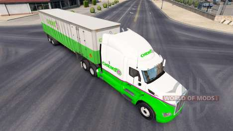 Chemso skin for the truck Peterbilt for American Truck Simulator