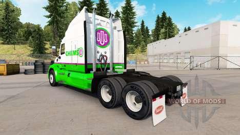 Chemso skin for the truck Peterbilt for American Truck Simulator