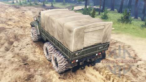 Ural-4320М for Spin Tires