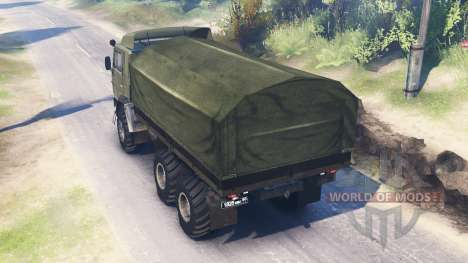 KamAZ-4310 [twin turbo] for Spin Tires