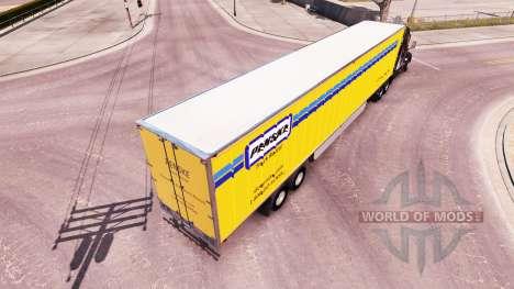 Penske skin for the trailer for American Truck Simulator
