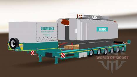 Siemens Trafo Trailer for American Truck Simulator