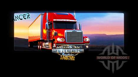 Loading screens from Lancer for American Truck Simulator