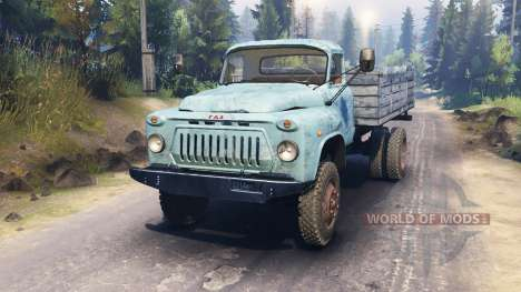 GAZ-52 4x4 v2.0 for Spin Tires