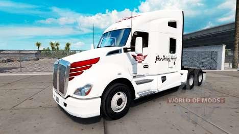 Skin on Keystone Western tractor Kenworth for American Truck Simulator