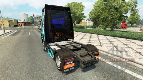 Skin Dragon for truck Volvo for Euro Truck Simulator 2