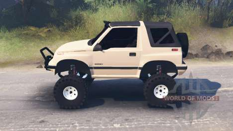 Suzuki Sidekick for Spin Tires