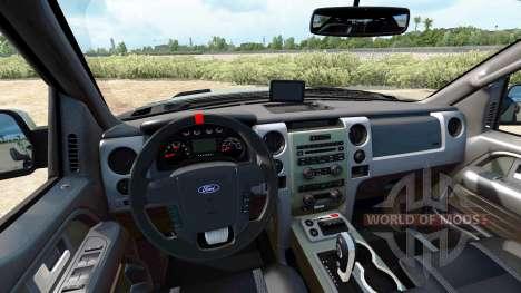 Ford F-150 SVT Raptor v1.4 for American Truck Simulator