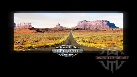 Loading screens Nevada for American Truck Simulator