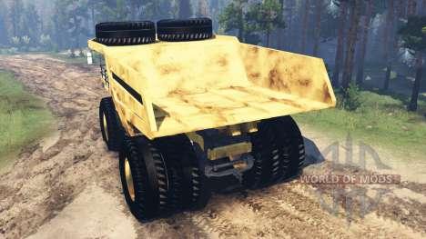 Mining truck Godzilla v2.0 for Spin Tires